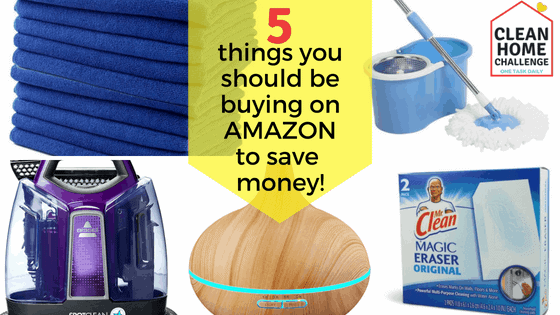5 things to buy on Amazon to save money.