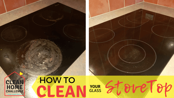HOW TO CLEAN YOUR GLASS STOVETOP