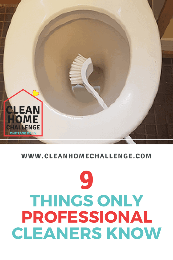 Professional cleaning tips from marks on walls, fingerprints on the fridge, to a clean toilet.