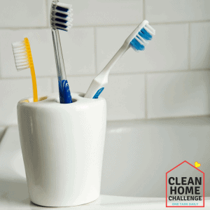 Clean Your Toothbrush Holder