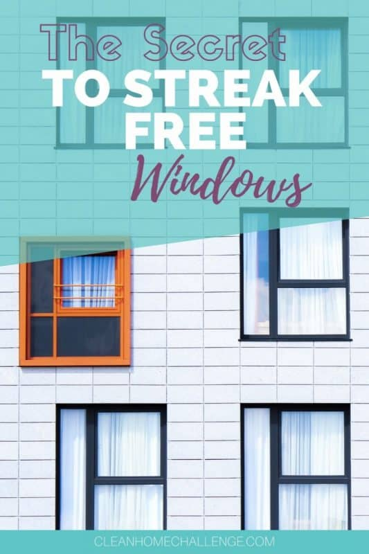 Want Streak Free Windows: Use Vinegar To Clean Them