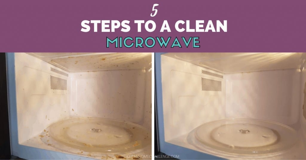 5 Steps To A Clean Microwave