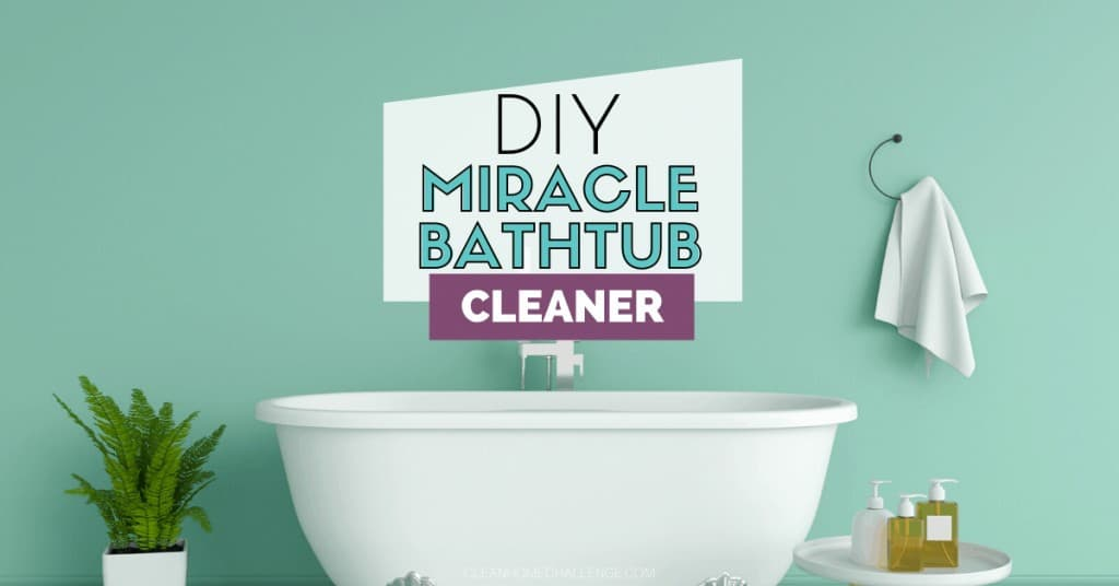 DIY Miracle Bathtub Cleaner
