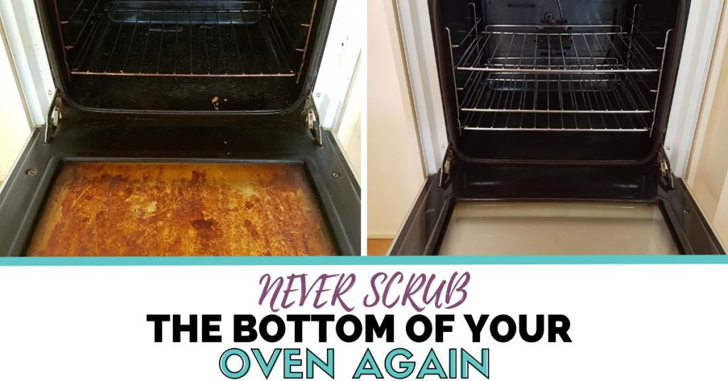 Never Scrub The Bottom Of Your Oven
