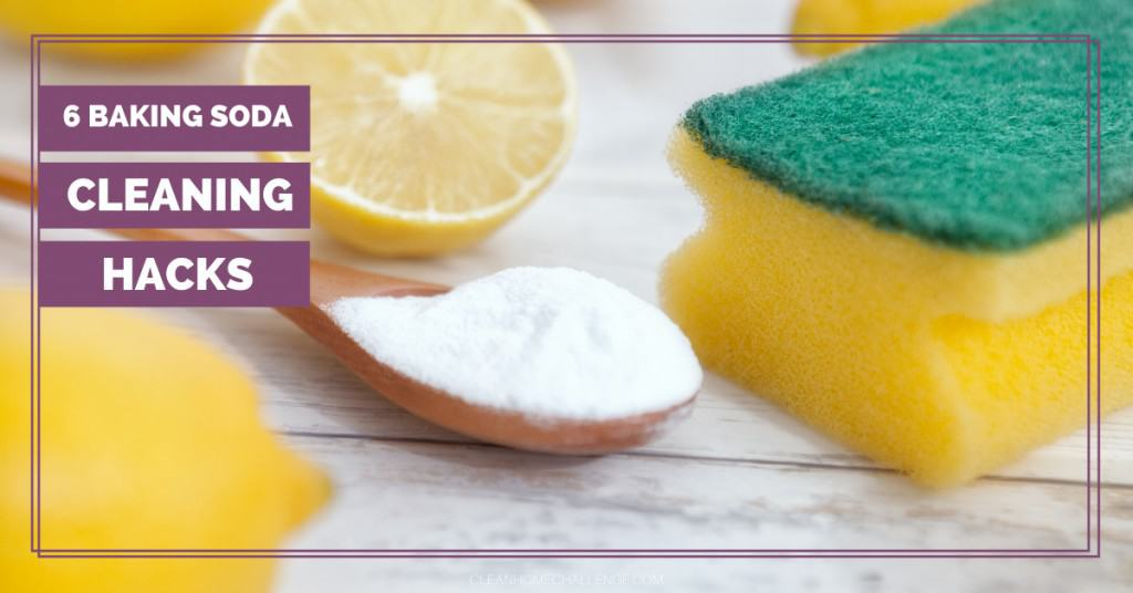 6 Baking Soda Cleaning Hacks
