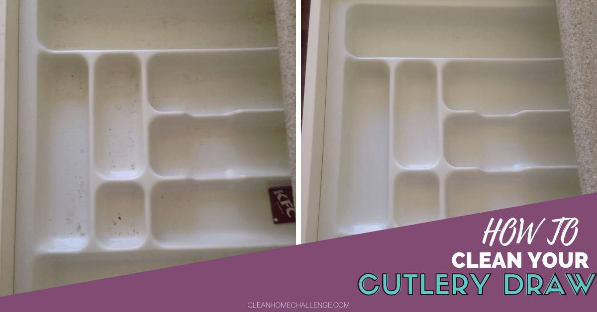 How To Clean Your Cutlery Draw