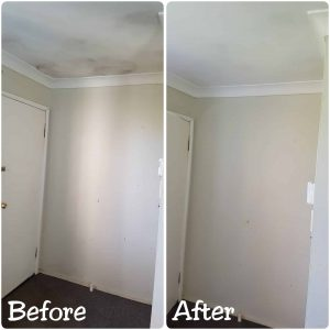 Cleaning Mould On The Ceiling